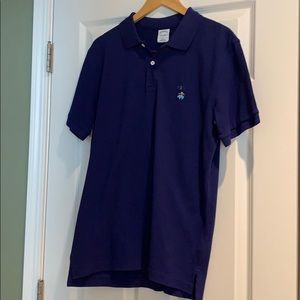 New, blue, Brooks Brothers polo. Slim fit. Size L.
